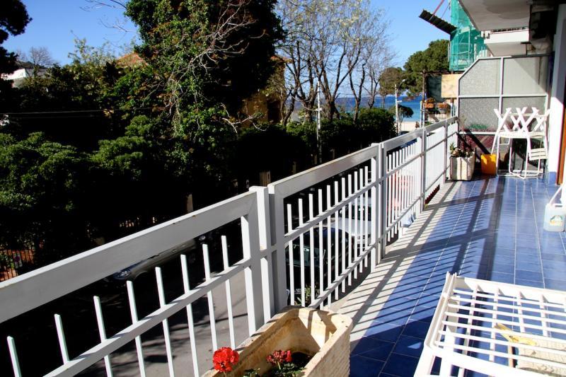 Vista dal terrazzo Affitto Appartamento 28889 Mondello