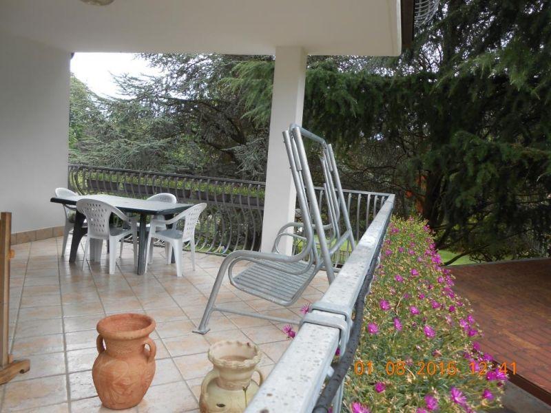 Vista dal terrazzo Affitto Appartamento 29212 Riva del Garda
