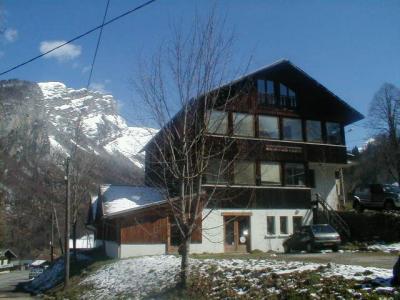 Vista esterna della casa vacanze Affitto Agriturismo 3066 Sixt Fer � Cheval