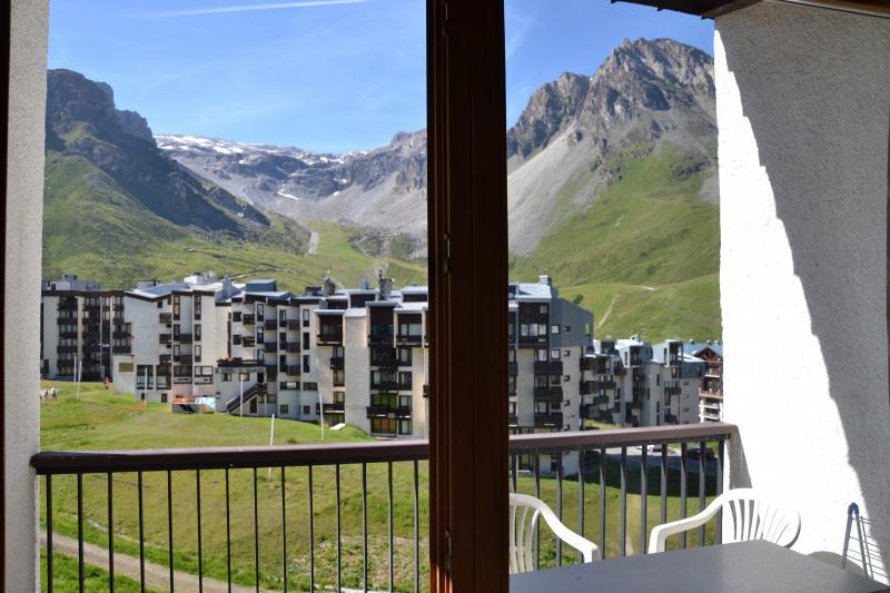 Vista dalla casa vacanze Affitto Monolocale 3137 Tignes