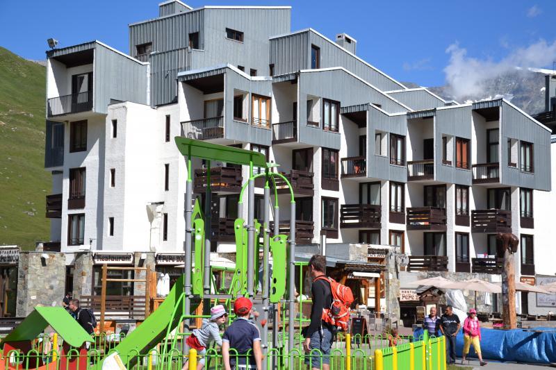Vista esterna della casa vacanze Affitto Monolocale 3137 Tignes