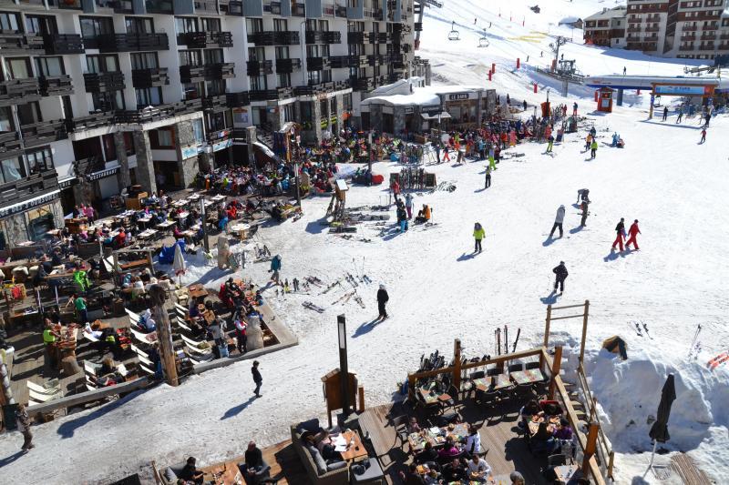 Vista dal balcone Affitto Monolocale 3137 Tignes