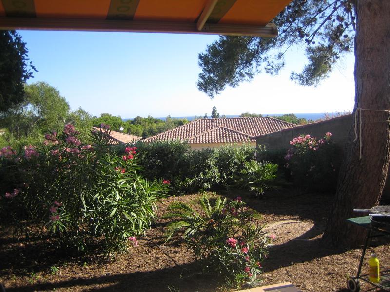 Vista dal terrazzo Affitto Casa 31424 Calvi