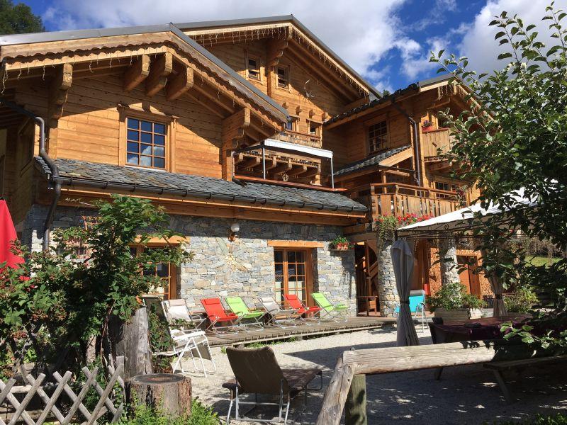 Vista esterna della casa vacanze Affitto Chalet 31596 La Plagne
