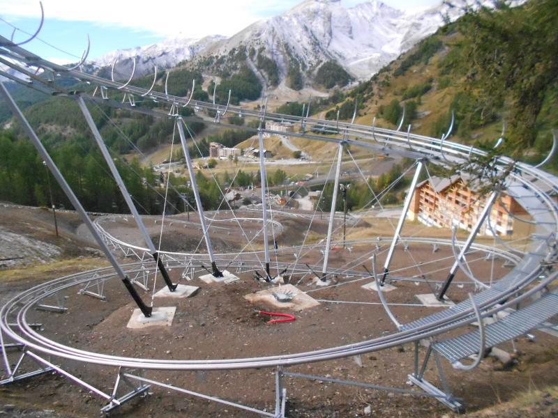 Vista nelle vicinanze Affitto Monolocale 3194 Val d'Allos