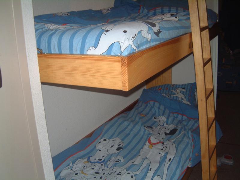 Zona notte cabina Affitto Monolocale 3203 Val d'Allos