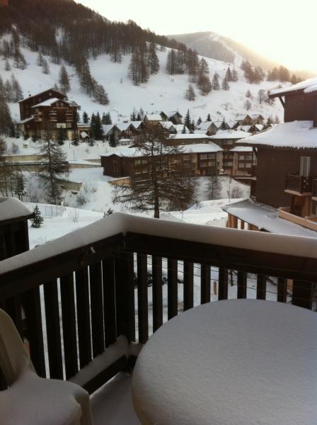 Vista dal balcone Affitto Monolocale 3204 La Foux d'Allos