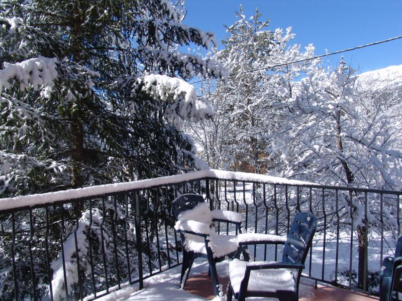 Balcone Affitto Chalet 3208 Val d'Allos
