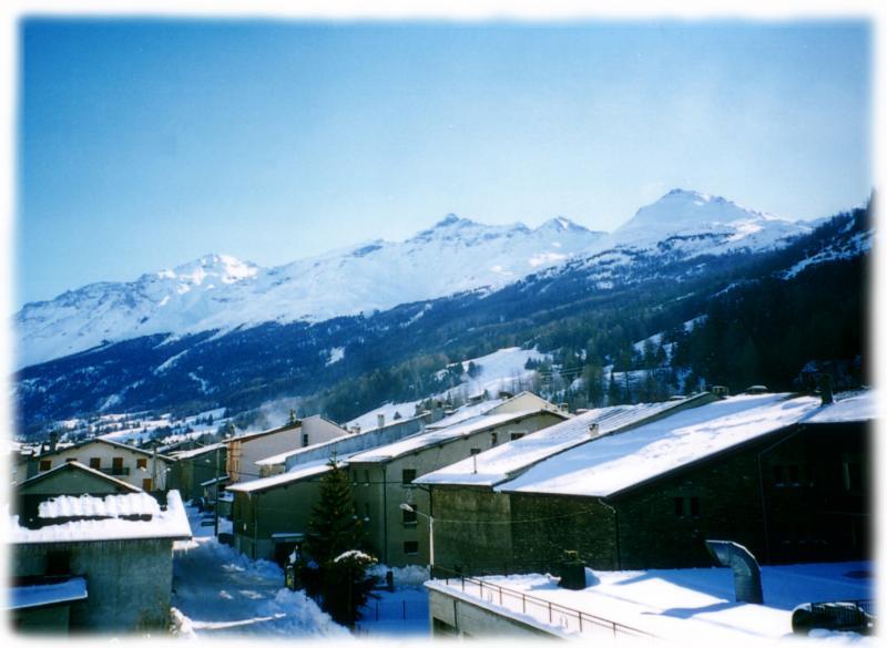 Vista dalla casa vacanze Affitto Appartamento 3250 Val Cenis