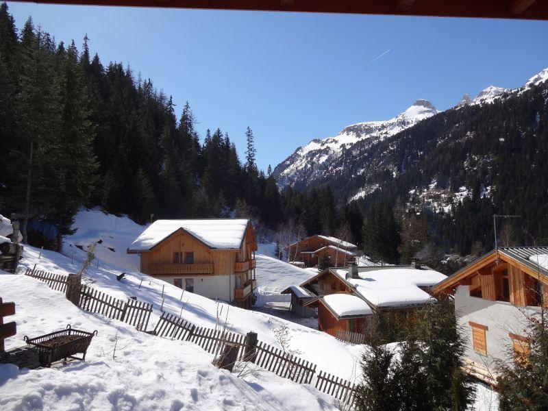 Vista dal terrazzo Affitto Chalet 3291 Valfréjus