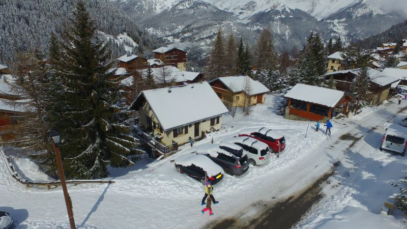 Vista esterna della casa vacanze Affitto Chalet 3300 Valfréjus