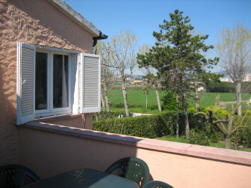 Vista dal terrazzo Affitto Appartamento 33054 Numana