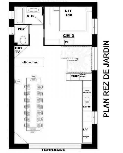 Pianta casa vacanze Affitto Chalet 3373 Valloire