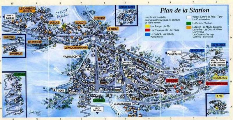 Mappa Affitto Chalet 3373 Valloire