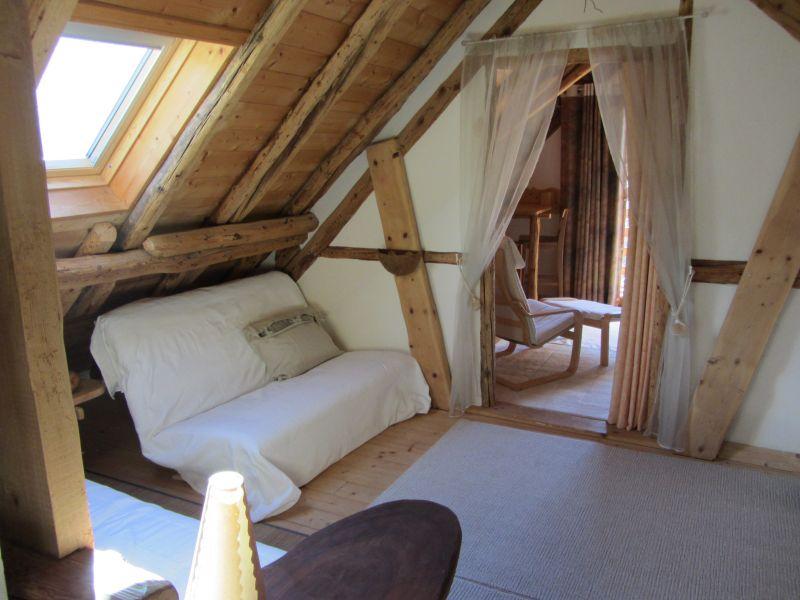 Zona notte aperta Affitto Appartamento 3383 Valloire