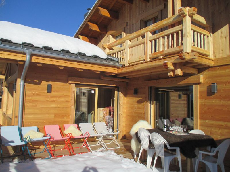 Terrazzo Affitto Chalet 33878 Les 2 Alpes