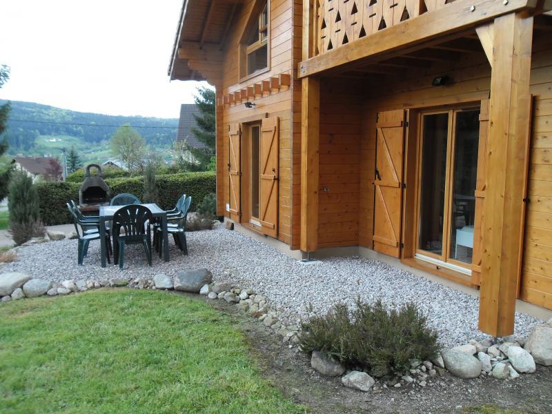 Vista dalla casa vacanze Affitto Chalet 35155 Gérardmer