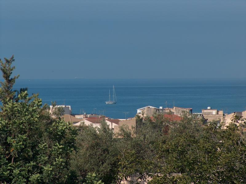 Vista dal terrazzo Affitto Appartamento 35318 Marina di Ragusa