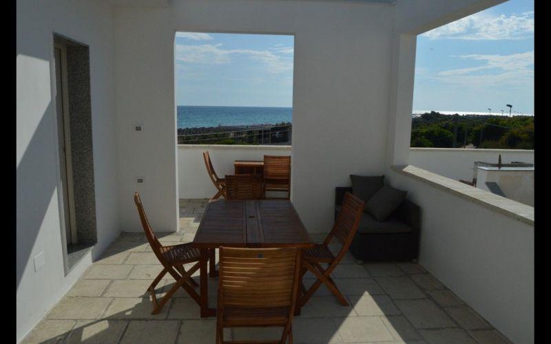 Vista dalla casa vacanze Affitto Appartamento 35867 Lido Marini