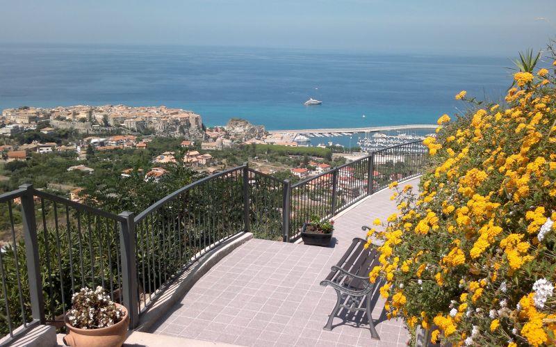 Vista dalla casa vacanze Affitto Monolocale 36536 Tropea