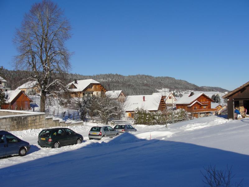 Vista dalla casa vacanze Affitto Casa 3717 Mouthe