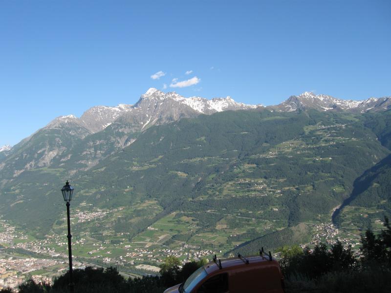 Vista dalla casa vacanze Affitto Monolocale 37723 Sarre