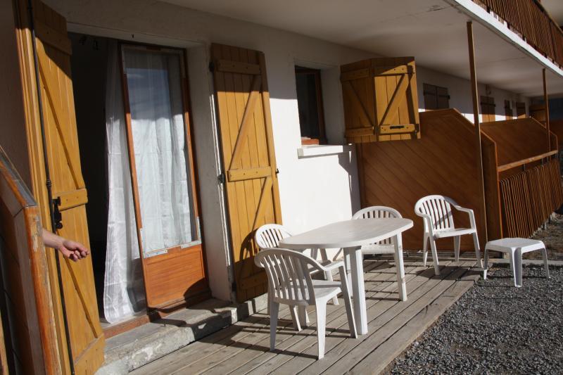 Vista dal terrazzo Affitto Appartamento 379 Auron - Saint Etienne de Tinée