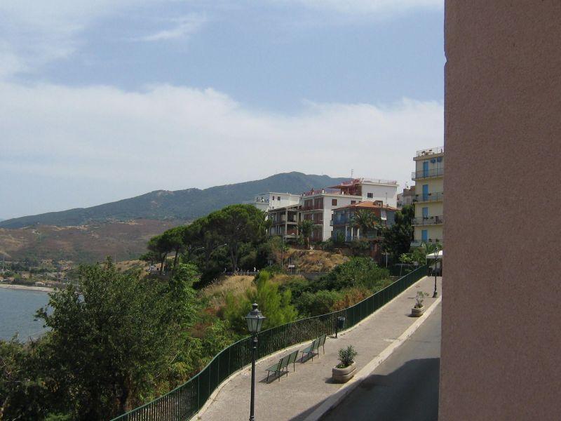 Vista dal balcone Affitto Appartamento 38440 Finale di Pollina