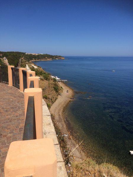 Vista dalla casa vacanze Affitto Appartamento 38440 Finale di Pollina