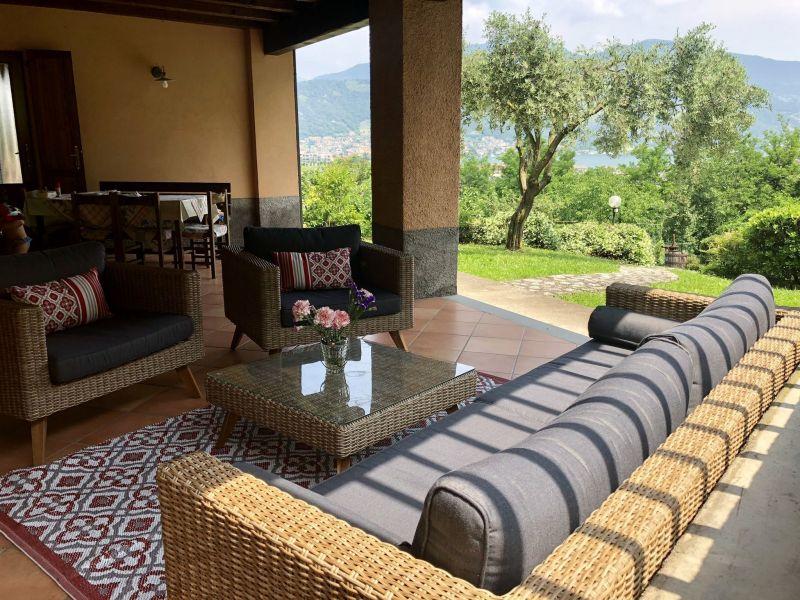Vista dal terrazzo Affitto Villa  38515 Iseo
