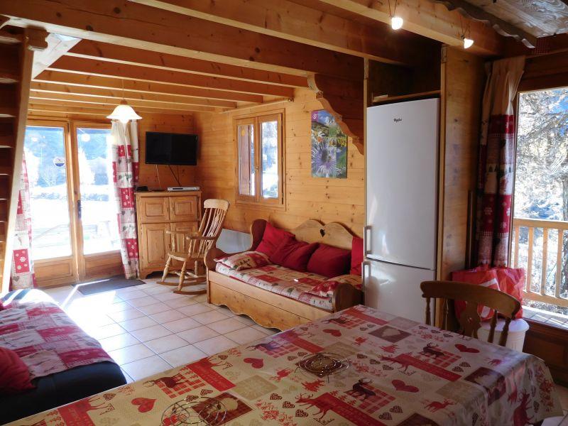 Soggiorno 1 Affitto Chalet 38653 Les Orres