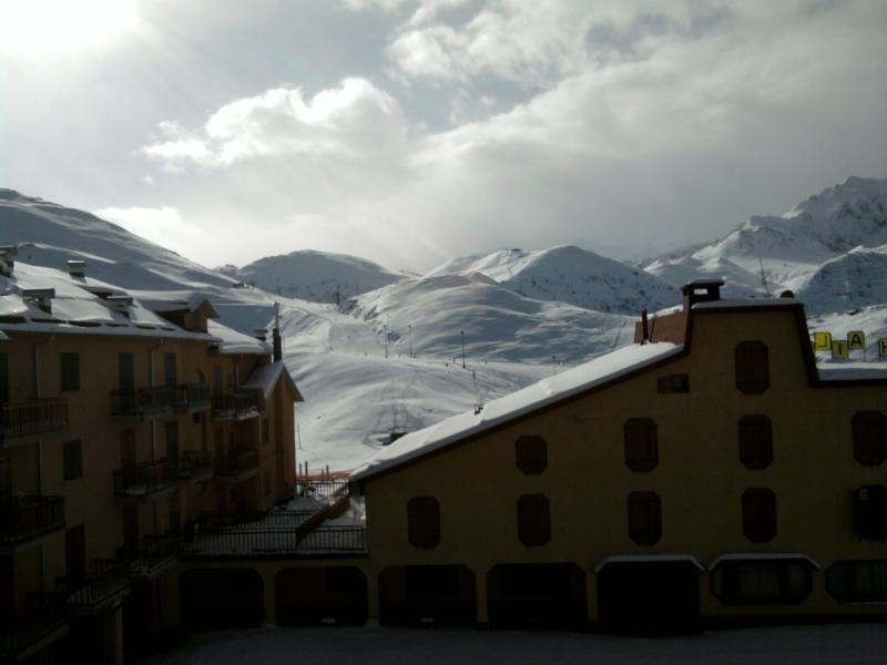 Vista dal terrazzo Affitto Appartamento 39181 Prato Nevoso