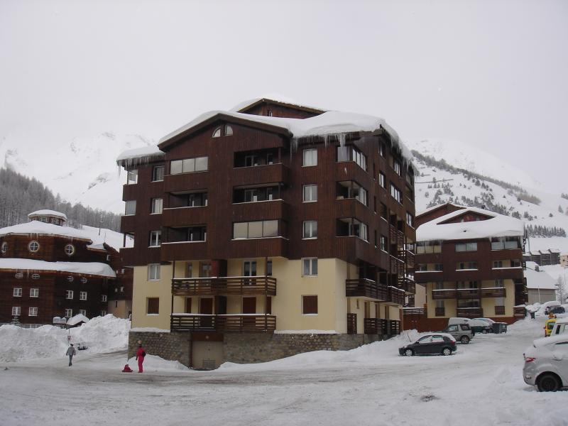 Vista esterna della casa vacanze Affitto Monolocale 39211 Val d'Allos