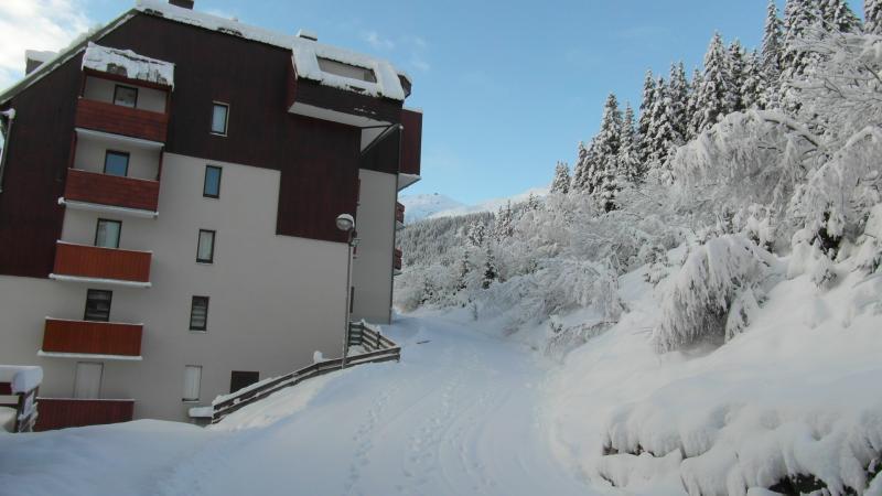 Vista dalla casa vacanze Affitto Appartamento 40301 Les Sept Laux