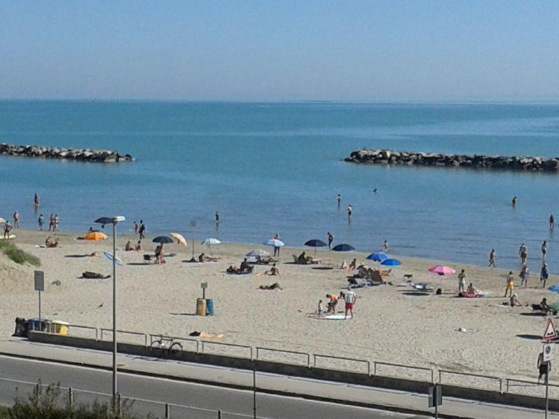 Vista dal balcone Affitto Appartamento 40527 Rimini