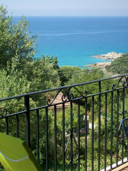 Vista dalla casa vacanze Affitto Appartamento 40549 Olmeto
