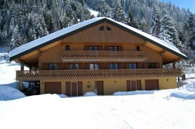 Vista esterna della casa vacanze Affitto Chalet 41508 Ch�tel