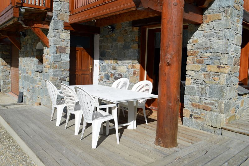 Terrazzo Affitto Chalet 41939 Les Menuires