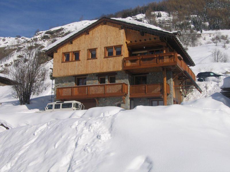Vista esterna della casa vacanze Affitto Chalet 41939 Les Menuires