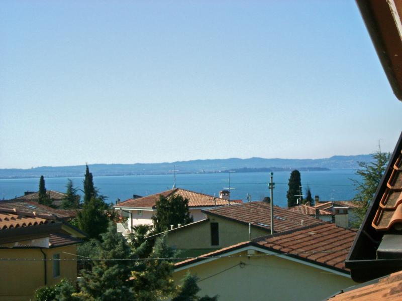 Vista dal terrazzo Affitto Appartamento 42959 Lazise