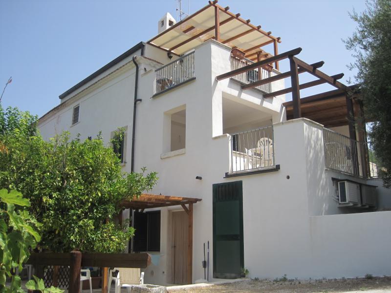 Vista dalla casa vacanze Affitto Appartamento 43227 Rodi Garganico