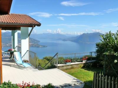 Vista esterna della casa vacanze Affitto Villa  44120 Stresa