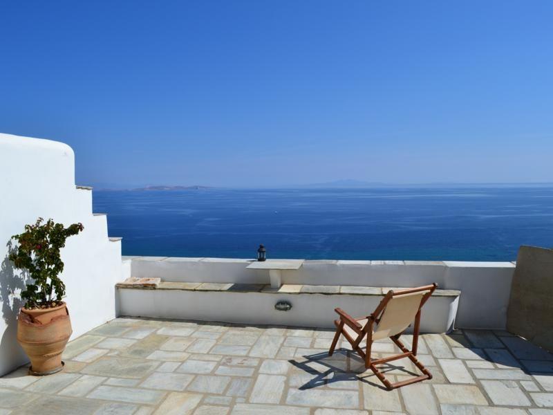 Vista dal terrazzo Affitto Appartamento 45329 Mykonos (Micono)
