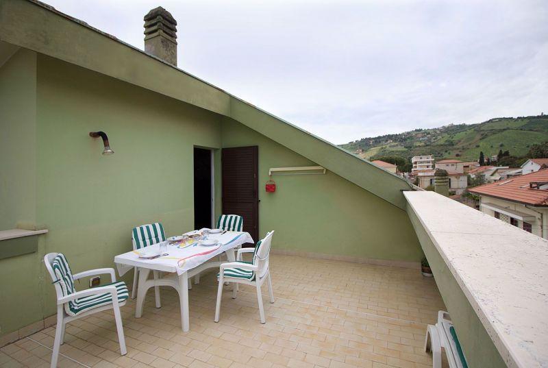 Vista dal terrazzo Affitto Appartamento 45432 Roseto degli Abruzzi