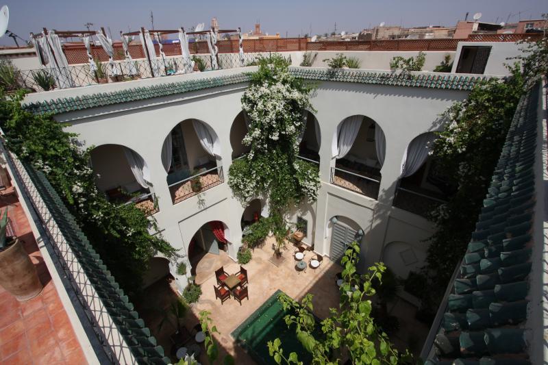 Vista dal terrazzo Affitto B&B 45751 Marrakech