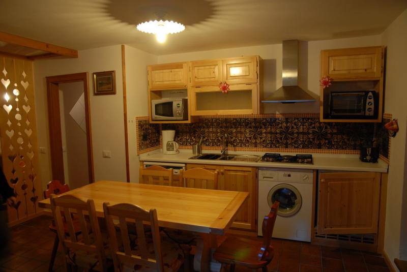 Cucina separata Affitto Appartamento 45784 Canazei - Belvedere