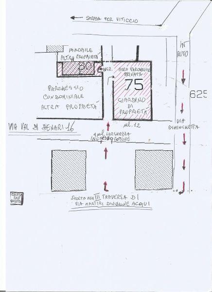 Parcheggio Affitto Appartamento 45992 Portoferraio