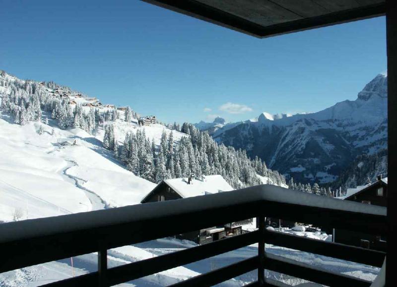 Vista dal balcone Affitto Monolocale 4698 Les Crosets
