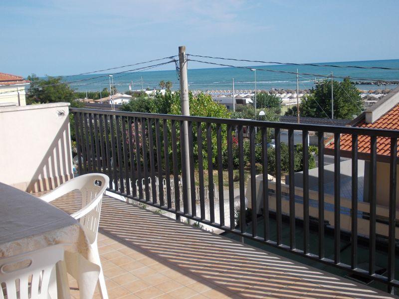 Vista dal terrazzo Affitto Appartamento 47140 Ortona