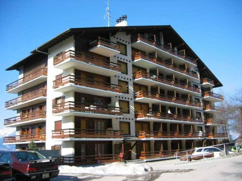 Vista esterna della casa vacanze Affitto Appartamento 4725 Nendaz